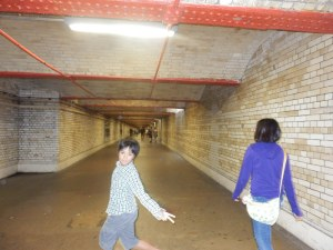 dưới đường hầm London